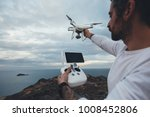 professional drone pilot or...   Shutterstock . vector #1008452806