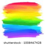 rainbow colors stripes vector...