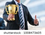 unidentified business people... | Shutterstock . vector #1008473605