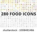 food flat icon | Shutterstock .eps vector #1008481486