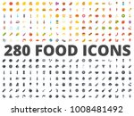 food flat icon | Shutterstock .eps vector #1008481492