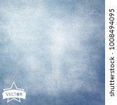 vector blue grunge background | Shutterstock .eps vector #1008494095