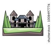 modern castle icon image   Shutterstock .eps vector #1008497776