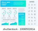 winter sport infographic...   Shutterstock .eps vector #1008502816