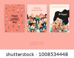 international women's day.... | Shutterstock .eps vector #1008534448