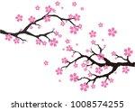 an illustration of cherry... | Shutterstock .eps vector #1008574255