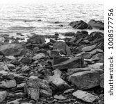 stones on the beach on the... | Shutterstock . vector #1008577756