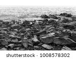 stones on the beach on the... | Shutterstock . vector #1008578302