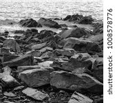 stones on the beach on the... | Shutterstock . vector #1008578776