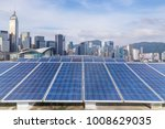 solar and modern city skyline  | Shutterstock . vector #1008629035