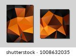 dark orangevector template for...