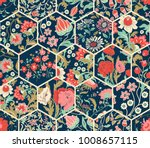 seamless abstract colorful... | Shutterstock .eps vector #1008657115