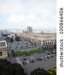 victory square in genova  italy | Shutterstock . vector #100866406