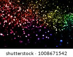 christmas multicolor sparkle... | Shutterstock . vector #1008671542