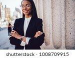 half length portrait of... | Shutterstock . vector #1008709915