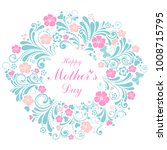 happy mother's day  greeting... | Shutterstock .eps vector #1008715795