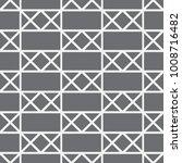 vector seamless pattern.... | Shutterstock .eps vector #1008716482