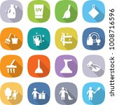 flat vector icon set   cleanser ... | Shutterstock .eps vector #1008716596