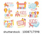 kids land playground and... | Shutterstock .eps vector #1008717598