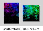 dark multicolor  rainbowvector...