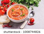 traditional indian cuisine.... | Shutterstock . vector #1008744826