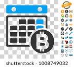 bitcoin calendar pictograph...