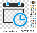 date and time pictograph with...   Shutterstock .eps vector #1008749035