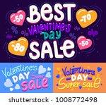 happy valentine's day super... | Shutterstock .eps vector #1008772498