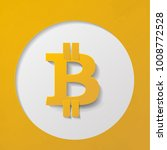 bitcoin. online crypto payment... | Shutterstock .eps vector #1008772528