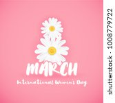 8 march international women's... | Shutterstock .eps vector #1008779722
