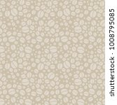 seamless beige background with... | Shutterstock . vector #1008795085