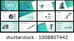 business presentation templates.... | Shutterstock .eps vector #1008807442