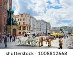 krakow  poland   august 27 ... | Shutterstock . vector #1008812668
