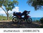 alona beach  bohol  ... | Shutterstock . vector #1008813076