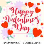 illustration for valentine's... | Shutterstock . vector #1008816046