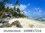alona beach  bohol  ... | Shutterstock . vector #1008817216