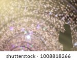 background blur muslim woman... | Shutterstock . vector #1008818266