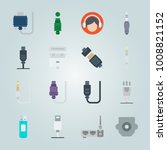 icon set about connectors...   Shutterstock .eps vector #1008821152