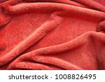 dark red towel background... | Shutterstock . vector #1008826495
