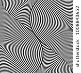 abstract halftone twisted... | Shutterstock .eps vector #1008843652