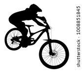 Athlete Mtb Downhill Bike Black ...