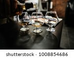 whiskey  glasses for whiskey | Shutterstock . vector #1008854686