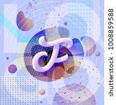 vector abstract logo. brand... | Shutterstock .eps vector #1008859588