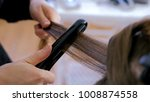professional hairdresser ...   Shutterstock . vector #1008874558
