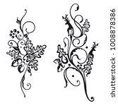 vector set of autumn designs....   Shutterstock .eps vector #1008878386