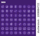 big seo icon set   Shutterstock .eps vector #1008884722