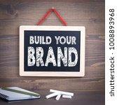 build your brand concept....   Shutterstock . vector #1008893968