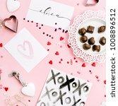 valentine's day or love... | Shutterstock . vector #1008896512