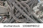 aerial view of highway and... | Shutterstock . vector #1008898012
