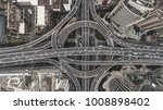 aerial view of highway and... | Shutterstock . vector #1008898402